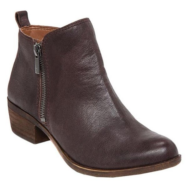 Lucky Brand Women's Basel Bootie Java Leather