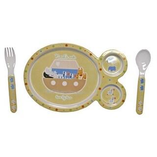 Cudlie Noah's Ark Feeding Set - 3 Piece