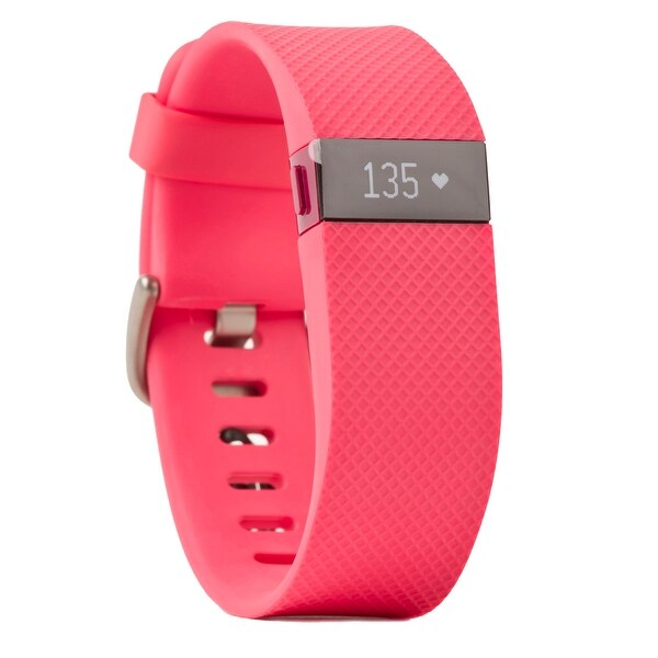 Fitbit Charge HR Activity Tracker (Pink, Small)