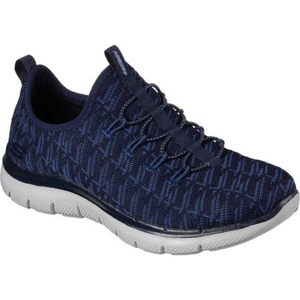 Skechers Women's Flex Appeal 2.0 Insights Sneaker Navy/Blue
