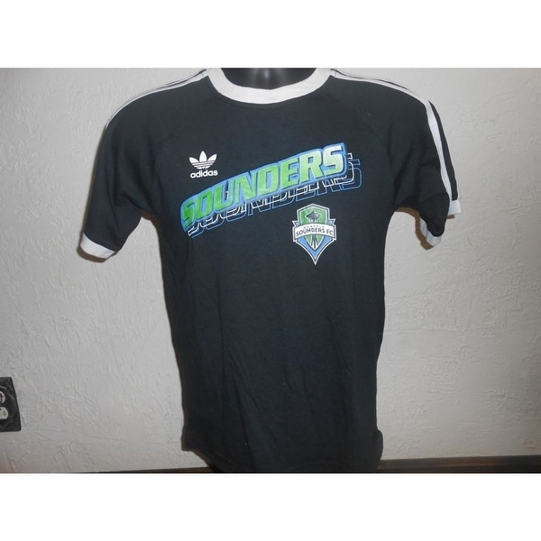 huge discount 298e9 5cb33 Mended Mls Seattle Sounders Fc Youth Medium M Shirt By Adidas