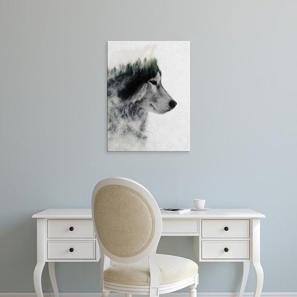 Easy Art Prints Andreas Lie's 'Wolf Stare' Premium Canvas Art