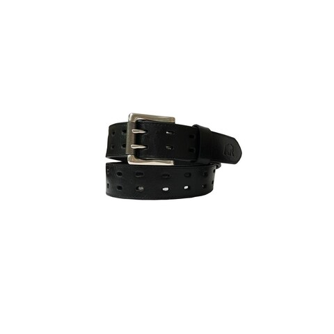 Berne Work Belt Mens Genuine Leather Stitch Loop Realtree 7521500