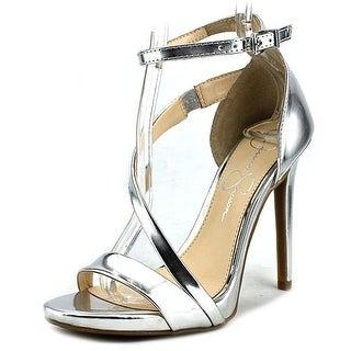 Jessica Simpson Rayli Open-Toe Synthetic Heels