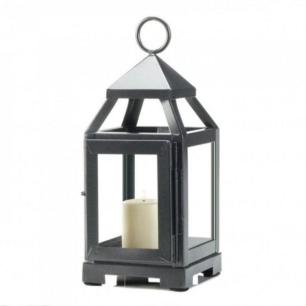 Silver Mini Modernized Lantern. Opens flyout.