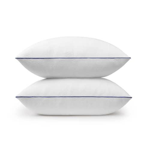 Beautyrest Fresh Sleep Memory Foam Cluster Pillow Set of 2