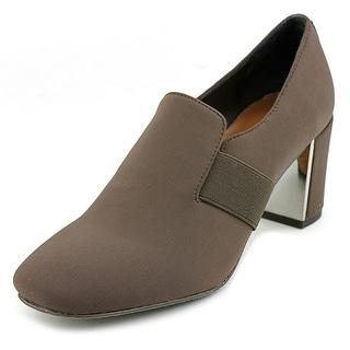 Donald J Pliner Clem Women Square Toe Leather Heels