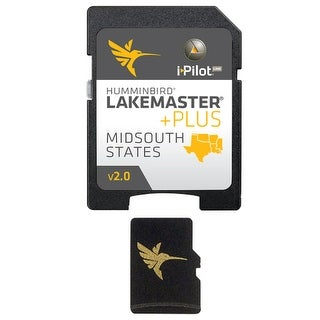 """Humminbird LakeMaster PLUS Chart - Mid-South States - Version 2 LakeMaster PLUS Chart - Mid-South States - Version 2"""