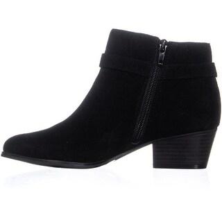 Giani Bernini Womens Doriil Leather Almond Toe Ankle Fashion Boots