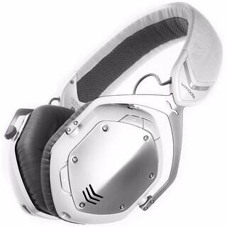 V-MODA Crossfade Bluetooth Over-Ear Headphones (White Silver)