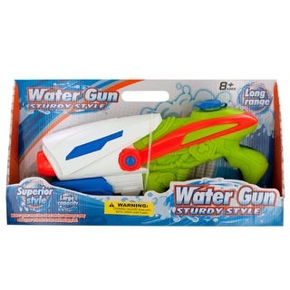 Daily Basic Kids Outdoor Pool and Beach Play Large Super Pump Long-Range Action Water Gun
