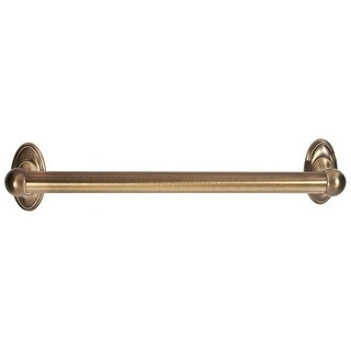Alno A8022-18 18 Inch Grab Bar from the Classic Traditional Collection