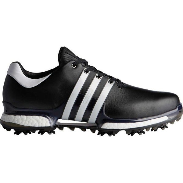 New Men's Adidas Tour 360 Boost 2.0 Golf Shoes Black/White Q44945 (MED)