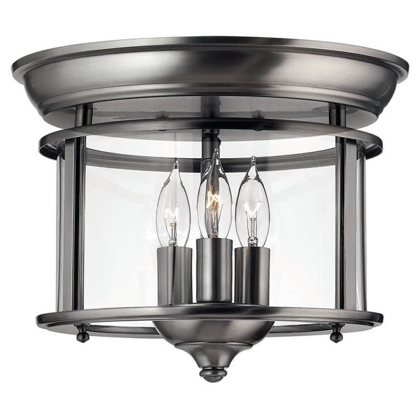 Hinkley Lighting H3473 3 Light Indoor Semi-Flush Ceiling Fixture from the Gentry Collection