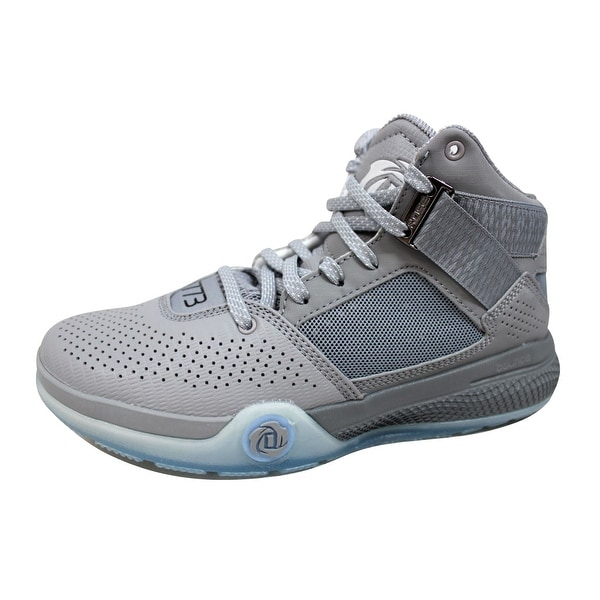 16872222de22 Shop Adidas Men s D Rose 773 IV 4 Light Onix Black-White D69432 ...