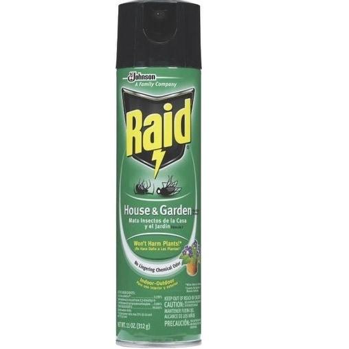 Shop Raid 76410 House Garden Bug Killer 11 Oz Free Shipping On Orders Over 45 Overstock