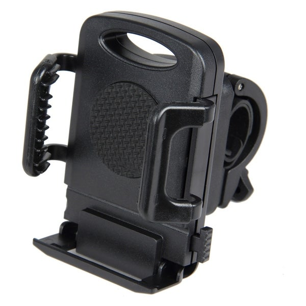 Pilot Automotive Black Bike Mount Clamp Bracket Cell Phone Holder For Apple iPhone Device