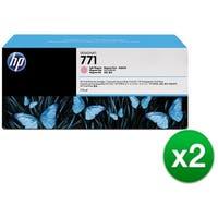 HP 771A 3-Cartridges 775-ml Light Magenta DesignJet Ink Cartridges (B6Y43A) (2-Pack)