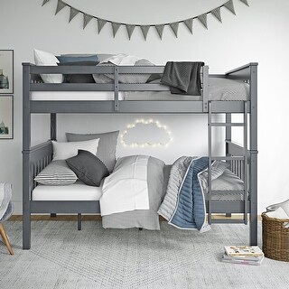Link to Avenue Greene Ellison Full over Full Bunk Bed with USB Port Similar Items in Kids' & Toddler Beds