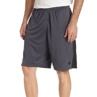 Champion NEW Gray Mens Size Small S Elastic-Waist Performance Shorts
