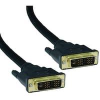 DVI-D Single Link Cable, DVI-D Male, 35 foot