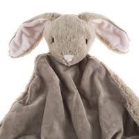 Brown Bunny Rabbit Baby Blanket and Stuffed Animal Toy