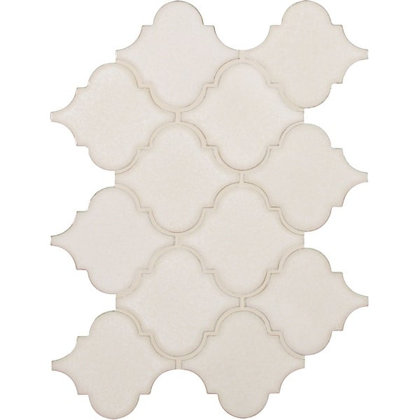 "MSI PT-AW-ARABESQ 15-1/2"" x 10-1/2"" Baroque Mosaic Wall Tile - Smooth Stone Imitating Visual - Sold by Carton (11.7 SF/Carton)"