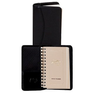 Scully Western Address Book Soft Plonge Leather Weekly Planner