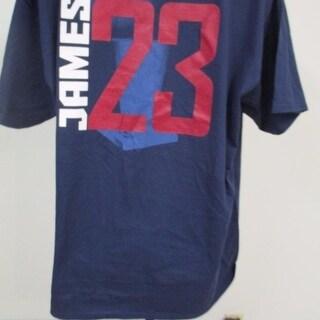 Nba Lebron James #23 Finals Cavaliers Mens 2Xl 2Xlarge Majestic Shirt 82Kj