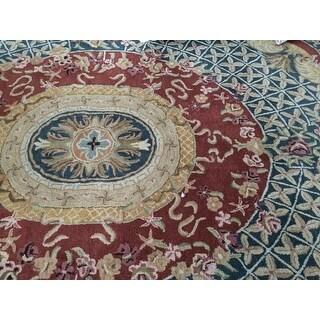Shop Safavieh Handmade Classic Multi Wool Rug 8 3 X 11