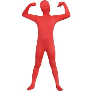Fun World Skin Suit Teen Costume (Red) - Red