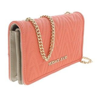 Versace EE3VRBPY4 Coral Wallet on Chain - 7.5-4.5-1