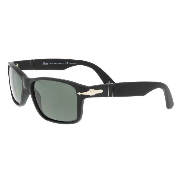f283389a0bcb6 Shop Persol PO3154S 104258 Matte Black Square Sunglasses - 58-16-145 ...
