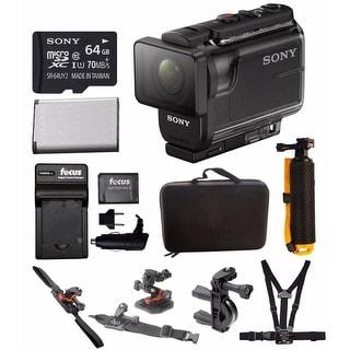 Sony HDRAS50/B Full HD Action Cam (Black) & Action Kit