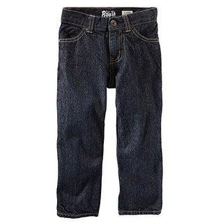 OshKosh B'gosh Baby Boys' Straight Jeans - River Dark (6 Months)