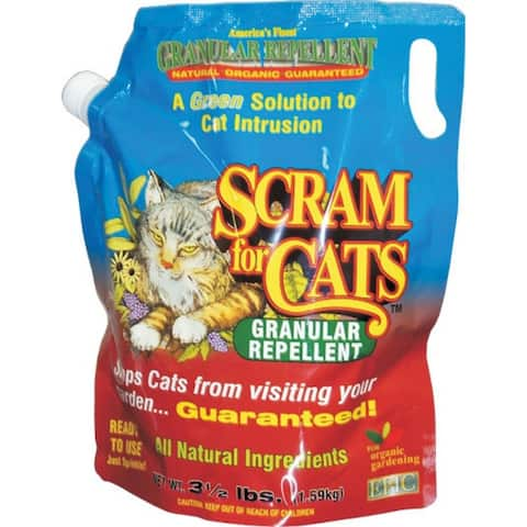 EPIC 15003 Scram For Cats Granular Repellent Shaker Bag, 3.5 Lb