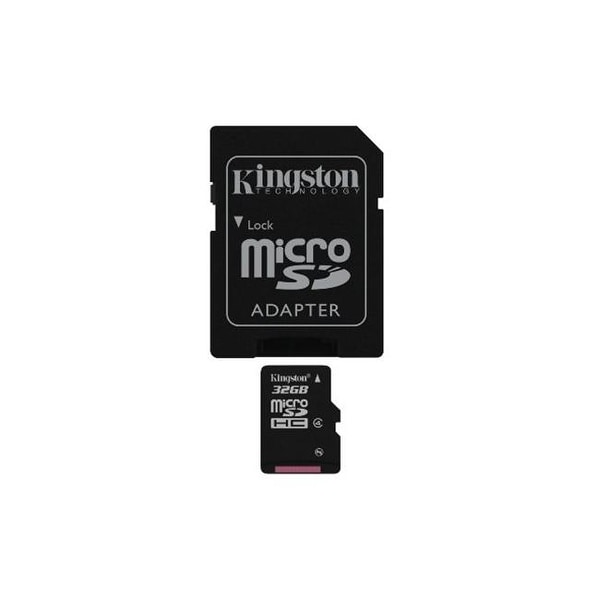 Kingston SDC4/32GB Digital 32 GB MicroSDHC Flash Memory Card