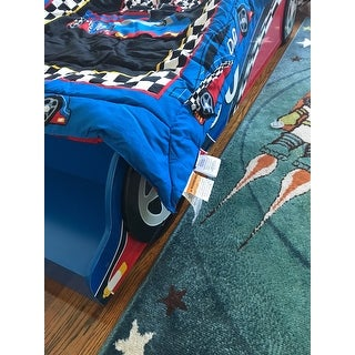 Race Car 4-piece Standard Toddler Bedding