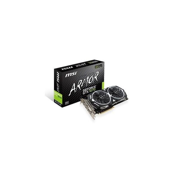 MSI GeForce GTX 1070 ARMOR OC 8GB Video Card NVIDIA GeForce GTX 1070 ARMOR OC 8GB Video Card