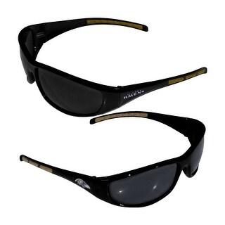 Baltimore Ravens NFL Wrap 3 Dot Sunglasses