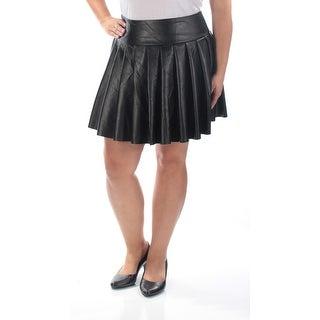 Womens Black Casual Skirt Size XL