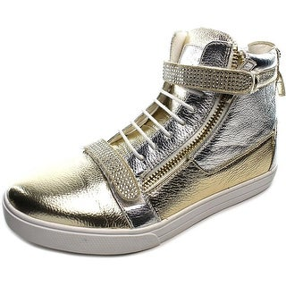 J75 by Jump Zion Men Synthetic Gold Fashion Sneakers