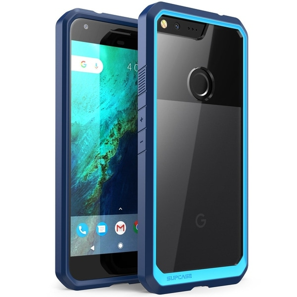 Google Pixel XL, Supcase, Unicorn Beetle Series Case-Blue