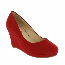 Red Circle Footwear Kissania Pump Wedge