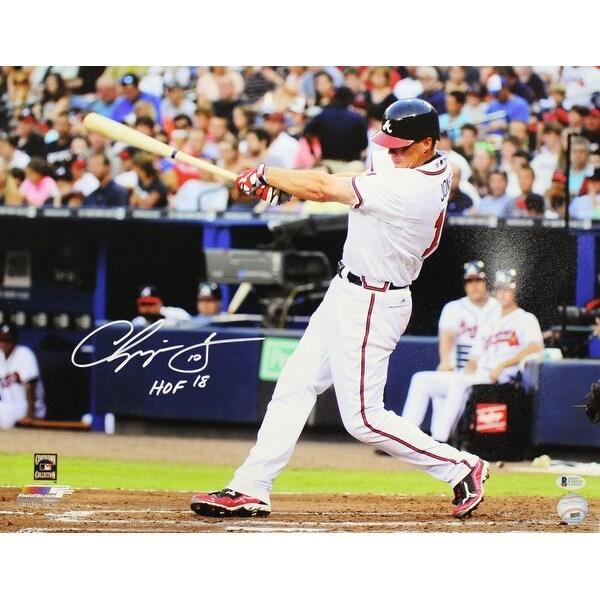 b763ee965bd Shop Chipper Jones Autographed Atlanta Braves 16x20 Photo HOF BAS - Free  Shipping Today - Overstock - 22544405