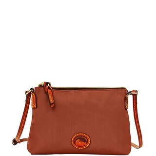 Dooney & Bourke Nylon Crossbody Pouchette (Introduced by Dooney & Bourke at $69 in Jul 2014) - Brown