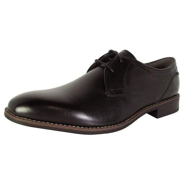 Steve Madden Mens P-Mister Lace up Oxford Dress Shoes - 10