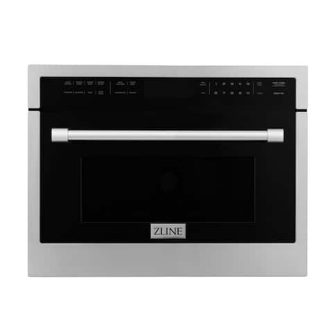 """ZLINE 24"""" Built-in Convection Microwave Oven in Stainless Steel"""