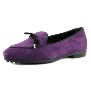 Tod's Prancy Laccetto Pointed Toe Suede Loafer