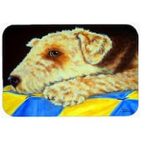 Airedale Terrier Mommas Quilt Mouse Pad, Hot Pad or Trivet
